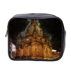 Dresden Frauenkirche Church Saxony Mini Toiletries Bag 2 Side