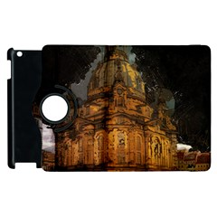 Dresden Frauenkirche Church Saxony Apple Ipad 2 Flip 360 Case by Nexatart