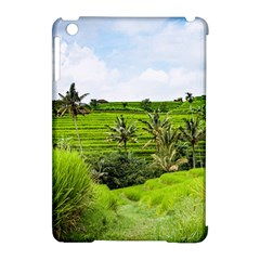 Bali Rice Terraces Landscape Rice Apple Ipad Mini Hardshell Case (compatible With Smart Cover) by Nexatart