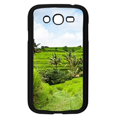 Bali Rice Terraces Landscape Rice Samsung Galaxy Grand Duos I9082 Case (black) by Nexatart