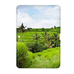 Bali Rice Terraces Landscape Rice Samsung Galaxy Tab 2 (10 1 ) P5100 Hardshell Case