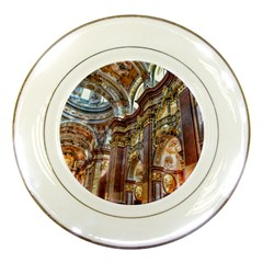 Baroque Church Collegiate Church Porcelain Plates