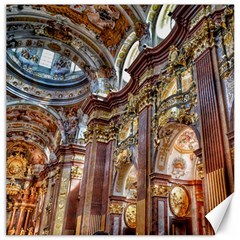 Baroque Church Collegiate Church Canvas 20  X 20   by Nexatart