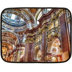Baroque Church Collegiate Church Double Sided Fleece Blanket (mini)