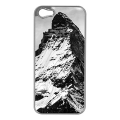 Matterhorn Switzerland Mountain Apple Iphone 5 Case (silver) by Nexatart