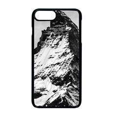 Matterhorn Switzerland Mountain Apple Iphone 7 Plus Seamless Case (black)