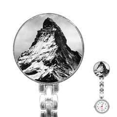 Matterhorn Switzerland Mountain Stainless Steel Nurses Watch by Nexatart