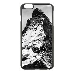 Matterhorn Switzerland Mountain Apple Iphone 6 Plus/6s Plus Black Enamel Case by Nexatart