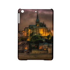 Mont St Michel Sunset Island Church Ipad Mini 2 Hardshell Cases by Nexatart