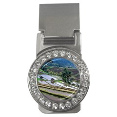 Rice Terrace Rice Fields Money Clips (cz)  by Nexatart