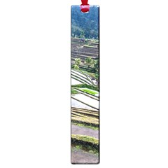 Rice Terrace Rice Fields Large Book Marks by Nexatart