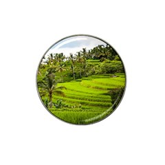 Rice Terrace Terraces Hat Clip Ball Marker by Nexatart