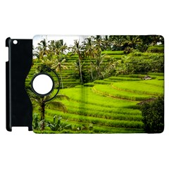 Rice Terrace Terraces Apple Ipad 2 Flip 360 Case