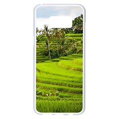 Rice Terrace Terraces Samsung Galaxy S8 Plus White Seamless Case