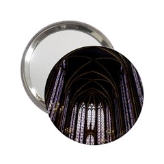 Sainte Chapelle Paris Stained Glass 2 25  Handbag Mirrors