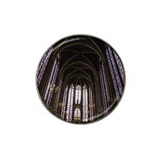 Sainte Chapelle Paris Stained Glass Hat Clip Ball Marker (4 Pack)