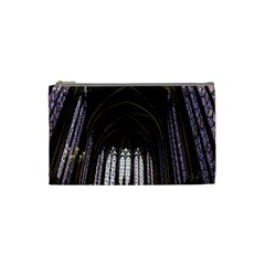Sainte Chapelle Paris Stained Glass Cosmetic Bag (small)