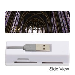 Sainte Chapelle Paris Stained Glass Memory Card Reader (stick)  by Nexatart