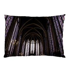 Sainte Chapelle Paris Stained Glass Pillow Case (two Sides)