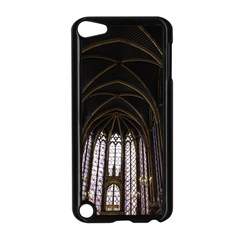 Sainte Chapelle Paris Stained Glass Apple Ipod Touch 5 Case (black) by Nexatart