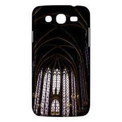 Sainte Chapelle Paris Stained Glass Samsung Galaxy Mega 5 8 I9152 Hardshell Case  by Nexatart