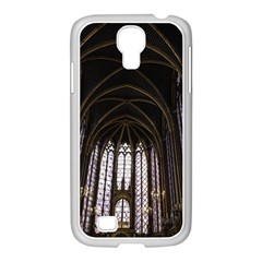 Sainte Chapelle Paris Stained Glass Samsung Galaxy S4 I9500/ I9505 Case (white)