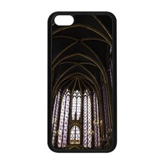 Sainte Chapelle Paris Stained Glass Apple Iphone 5c Seamless Case (black)
