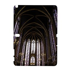 Sainte Chapelle Paris Stained Glass Galaxy Note 1 by Nexatart