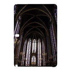 Sainte Chapelle Paris Stained Glass Samsung Galaxy Tab Pro 12 2 Hardshell Case by Nexatart