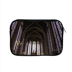 Sainte Chapelle Paris Stained Glass Apple Macbook Pro 15  Zipper Case by Nexatart