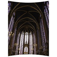 Sainte Chapelle Paris Stained Glass Back Support Cushion