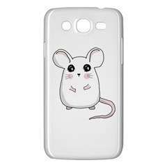 Cute Mouse Samsung Galaxy Mega 5 8 I9152 Hardshell Case  by Valentinaart