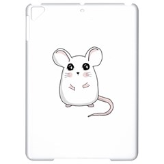 Cute Mouse Apple Ipad Pro 9 7   Hardshell Case by Valentinaart