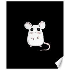 Cute Mouse Canvas 20  X 24   by Valentinaart