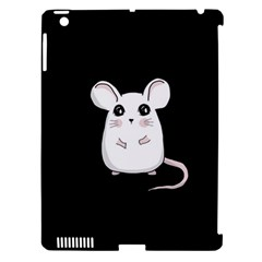 Cute Mouse Apple Ipad 3/4 Hardshell Case (compatible With Smart Cover)