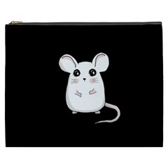 Cute Mouse Cosmetic Bag (xxxl)  by Valentinaart