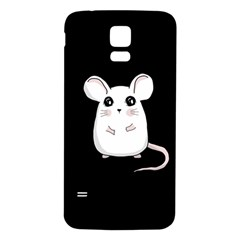 Cute Mouse Samsung Galaxy S5 Back Case (white)