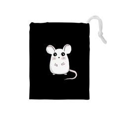 Cute Mouse Drawstring Pouches (medium)