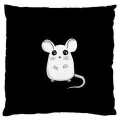 Cute Mouse Standard Flano Cushion Case (one Side) by Valentinaart