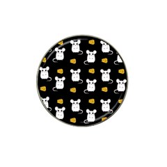 Cute Mouse Pattern Hat Clip Ball Marker (4 Pack) by Valentinaart
