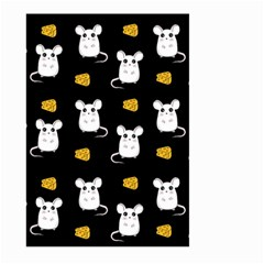 Cute Mouse Pattern Large Garden Flag (two Sides)