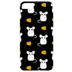 Cute Mouse Pattern Apple Iphone 5 Classic Hardshell Case by Valentinaart