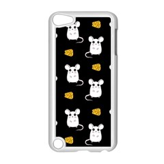 Cute Mouse Pattern Apple Ipod Touch 5 Case (white) by Valentinaart