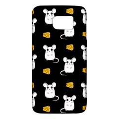 Cute Mouse Pattern Galaxy S6 by Valentinaart