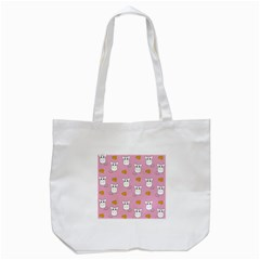 Cute Mouse Pattern Tote Bag (white) by Valentinaart