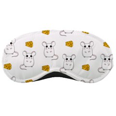 Cute Mouse Pattern Sleeping Masks by Valentinaart