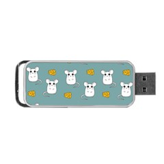 Cute Mouse Pattern Portable Usb Flash (two Sides)
