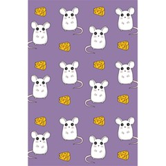 Cute Mouse Pattern 5 5  X 8 5  Notebooks by Valentinaart