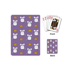 Cute Mouse Pattern Playing Cards (mini)