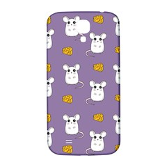 Cute Mouse Pattern Samsung Galaxy S4 I9500/i9505  Hardshell Back Case by Valentinaart